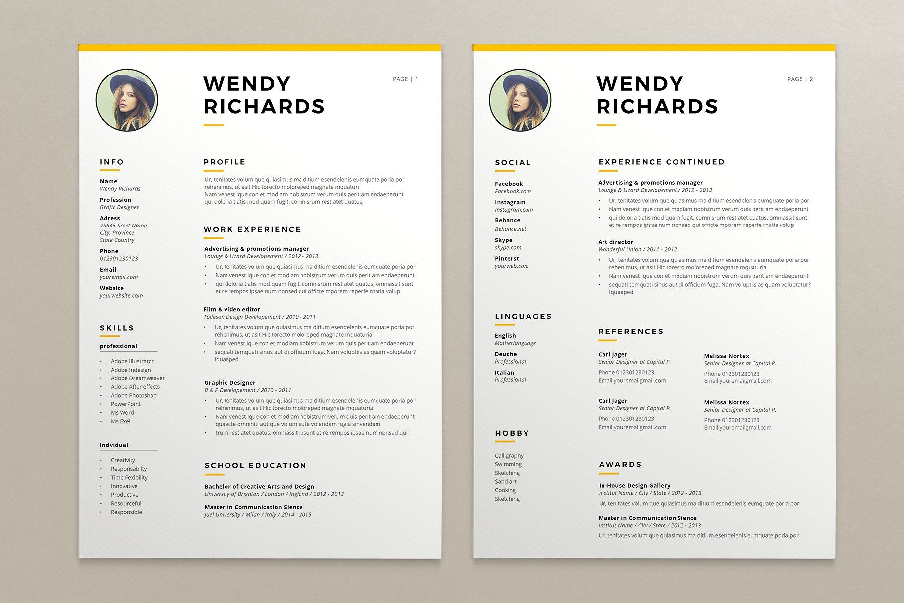 resume and cover letter service sydney