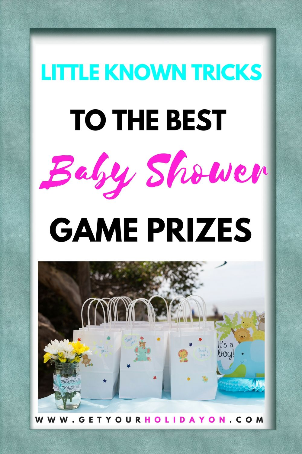 baby shower game prizes | holiday fun board | pinterest | baby