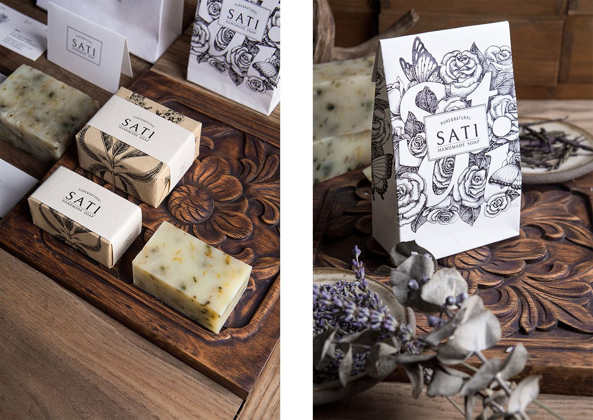 Illustrated Soap Wraps Creative Soap Packaging Soap