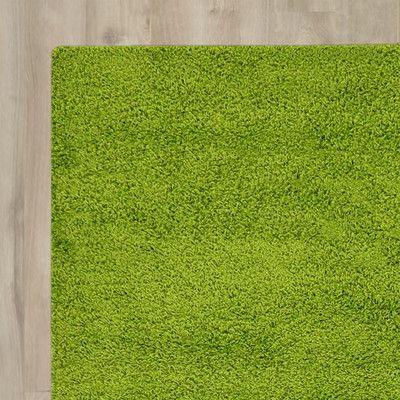 You Ll Love The Madison Basic Apple Green Area Rug At Wayfair