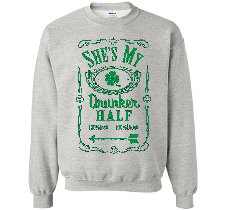 Irish Tshirt - She's My Drunker Half Shirt