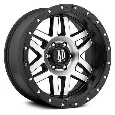 17 Inch Wheel Rims Black Silver Jeep Wrangler Jk Xd Series Xd128 Machete 5x5 New Truck Wheels Wheel Wheel Rims