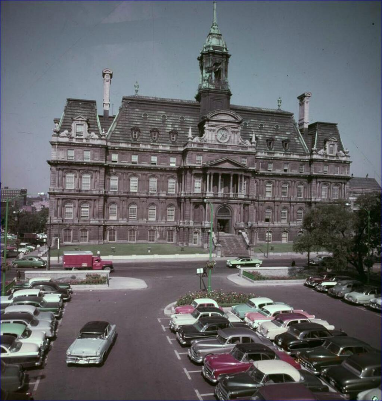 Flashback... Hôtel de ville de Montréal... 1955