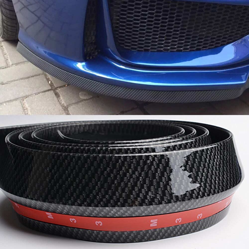 2 5 Meters M3 M4 Z4 Fake Carbon Fiber Car Styling Front Bumper Lip Spoiler For Bmw Any Car In Stickers From Automobiles M Carbon Fiber Ford Focus 2 Seat Leon [ 1000 x 1000 Pixel ]