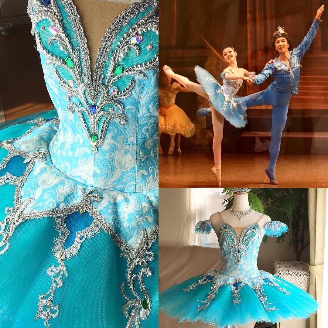 498afa9b246a59 バレエ衣装 #ブルー #ティアラ #頭飾り #blue #tutu #ballet_costume #tiara