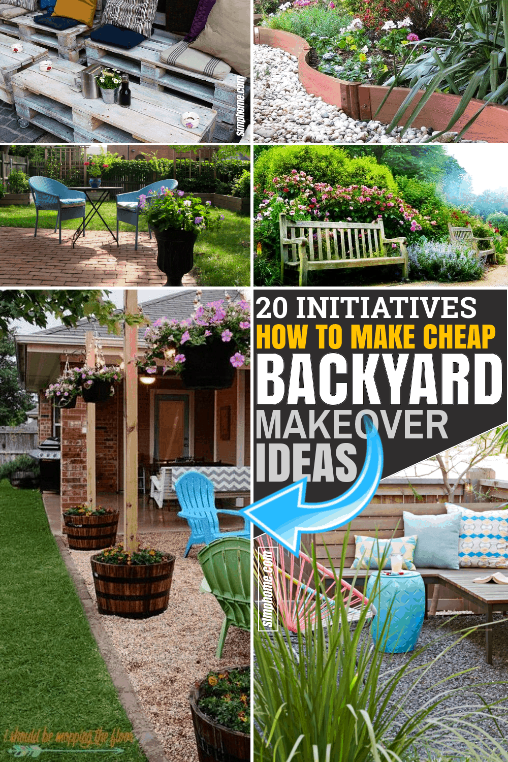 30 Initiatives Of Cheap Backyard Makeover Ideas Simphome Backyard Makeover Cheap Backyard Makeover Ideas Cheap Backyard