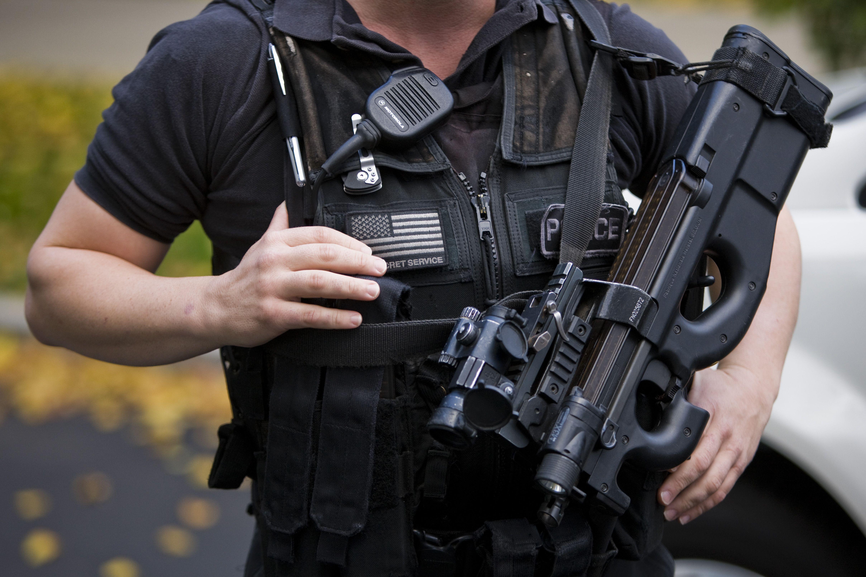 Barry Donadio, U.S. Secret Service Equipo táctico