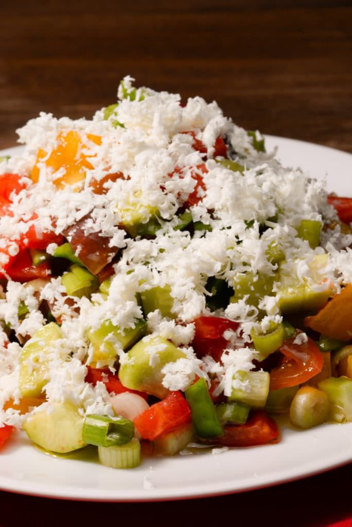 Macedonian Shopska Salad