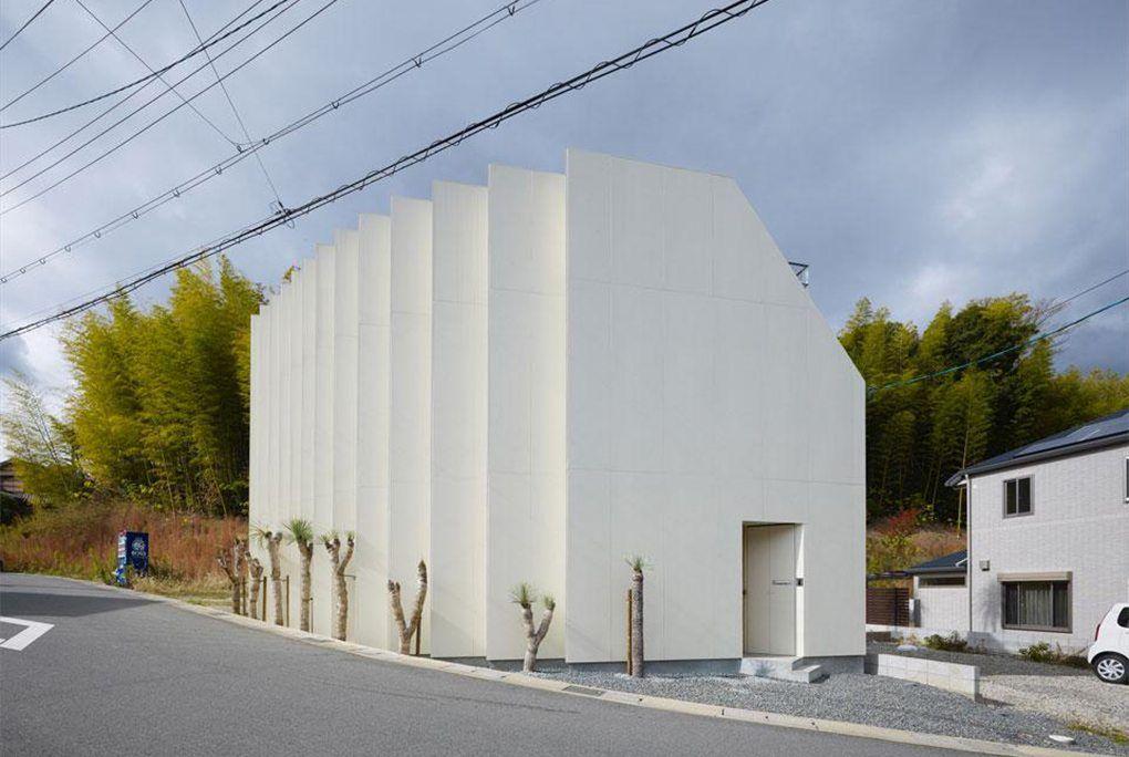 A Mukō, dans la préfecture de Kyoto, ce bâtiment qui accompagne le