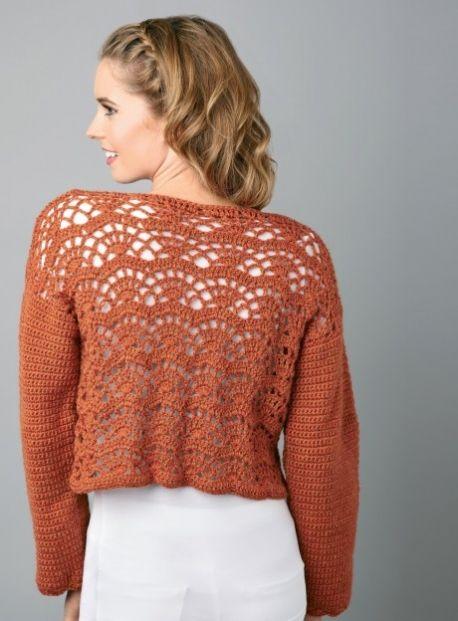 Crochet Cardi - Free Knitting Patterns - British | Pinterest ...