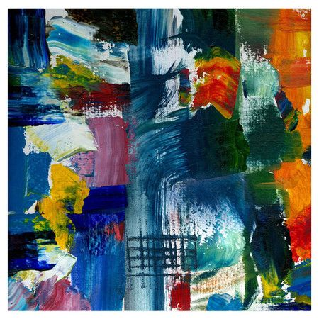 Michelle Calkins: fabulous abstract on Josh & Main.