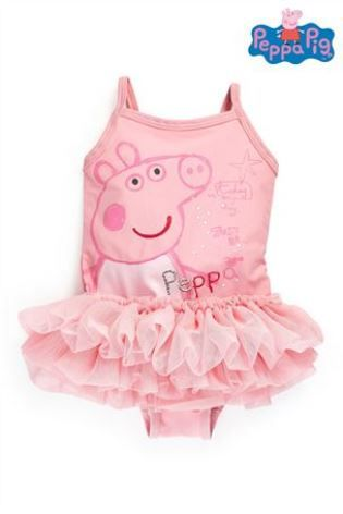 5df85af448 Buy Peppa Pig™ Tutu Swimsuit (3mths-6yrs) from the Next UK online shop