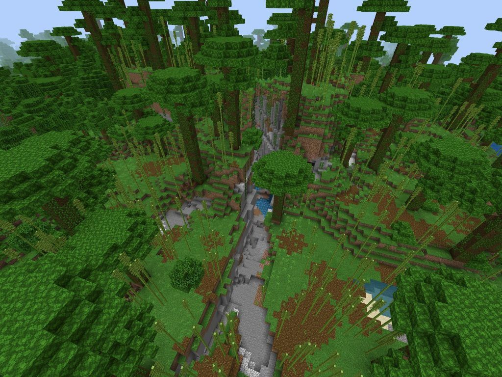 PE/Bedrock Bamboo Forest Seed [10.1010+] - Minecraft Seed HQ  Bamboo