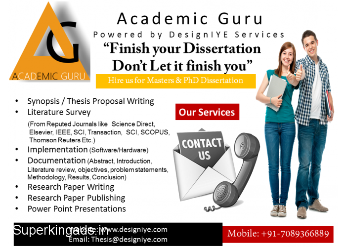 Phd thesis writing services in bhopal