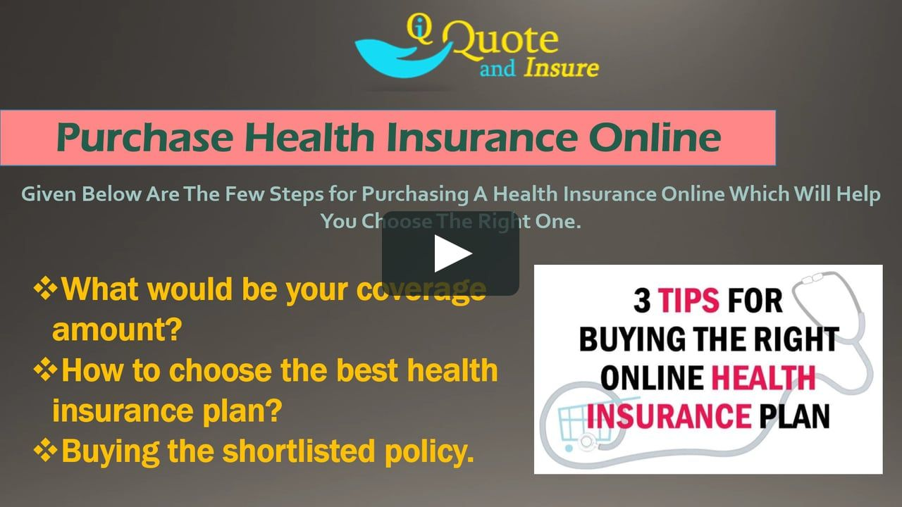 Health Insurance Online All About Best Online Health Insurance