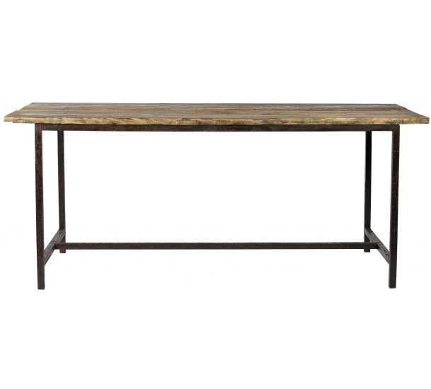 Nordal - Raw Bord - vintage træ - 180x70 - Spisebord i fyrretræ ...