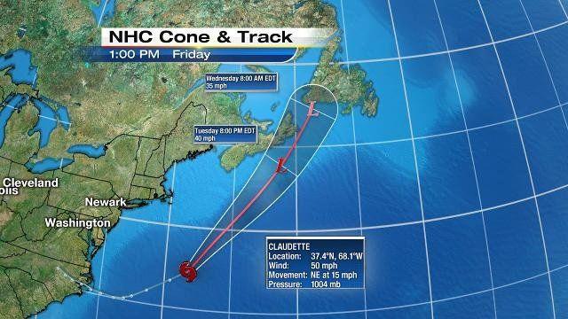 Storm forming off North Carolina has earmarks of cyclone