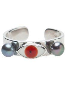 Delfina Delettrez Little Eye Pearl Ring - Lyst♥