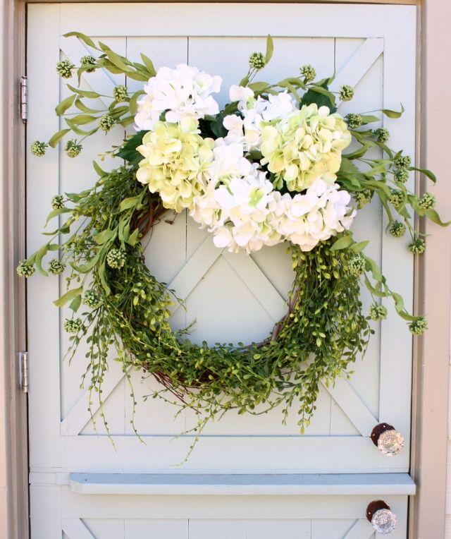 Spring Wreath Diy Spring Wreath Spring Crafts Wreaths