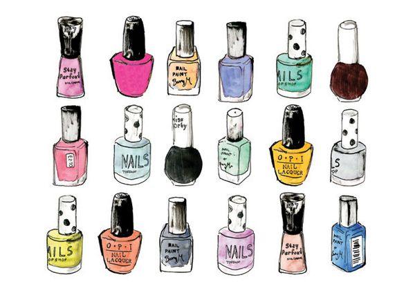 nail polish by isobel kho