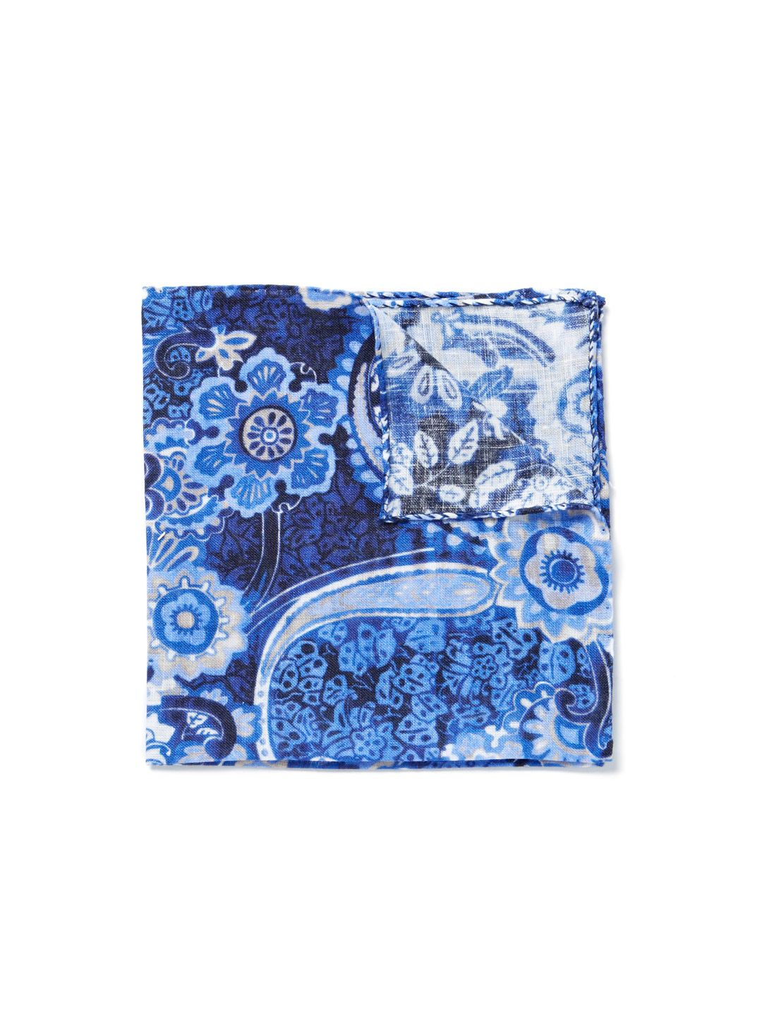 Paisley Pocket Square by Luciano Barbera at Gilt