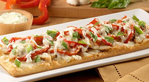 Olive garden flatbread grilled chicken intern kitchen chicken flatbread just like olive for Olive garden chicken flatbread
