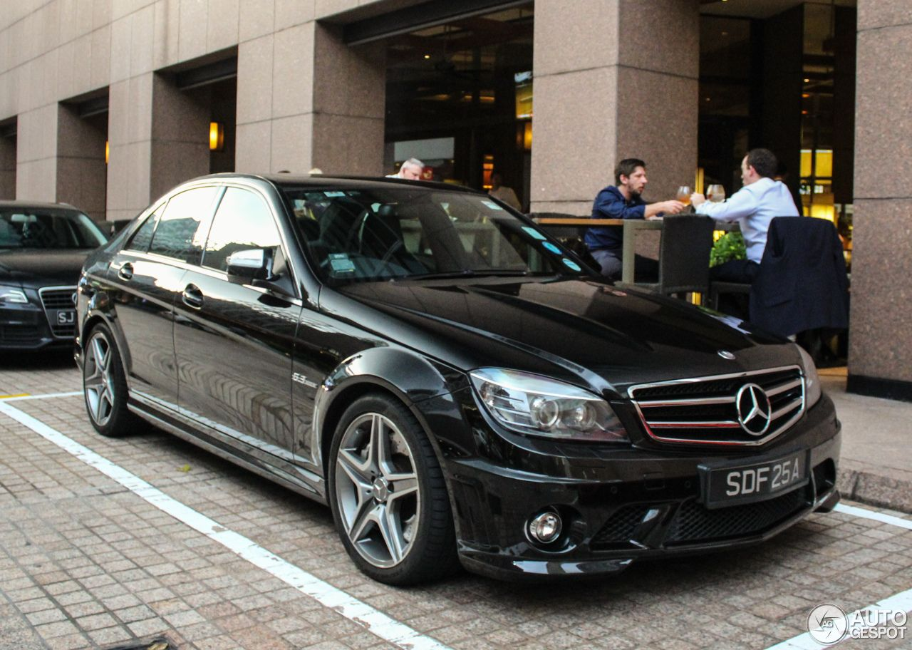 Mercedes Benz C 63 Amg W204 2 With Images Mercedes Benz