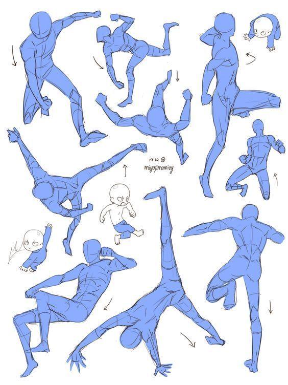 Photo of miyajimamizy | Art reference poses, Drawing poses, Anime poses reference