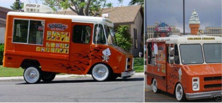 Ice Cream Truck With Hydraulics