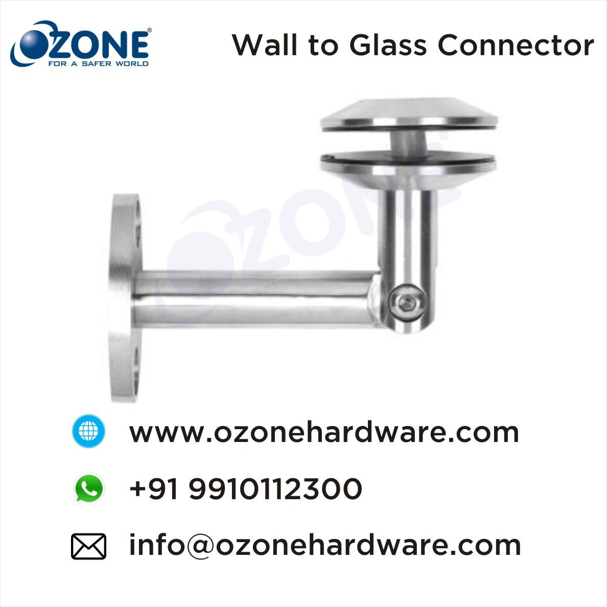 Wall to #Glass #Connector, #Canopy #Fittings, #Spider