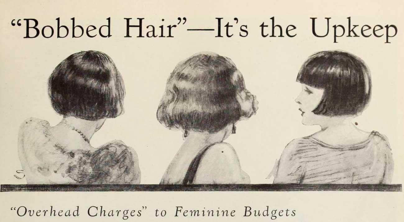 1920s Hairstyles The Bob Haircut Phenomenon Of 1924 1920s Bobbed