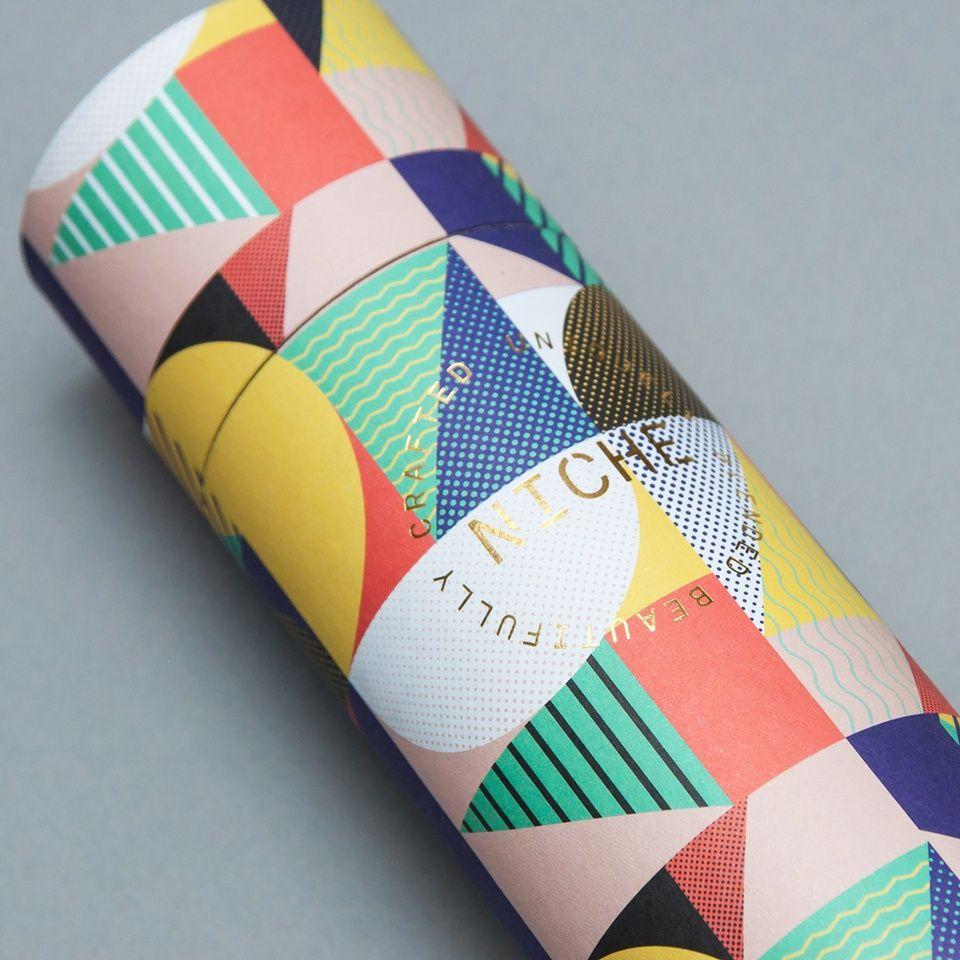 Packaging Inspiration: Niche Tea By I Want Design. #branding #packaging #tea