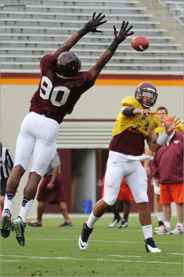 Fb Football Scrimmage At Virginia Tech With Images Virginia