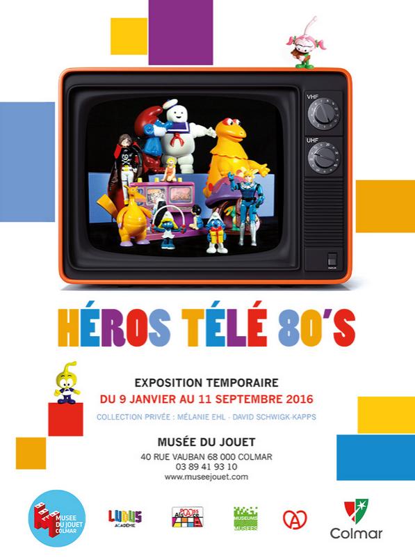 Héros télé 80's (Musée du jouet) (mars 2016)