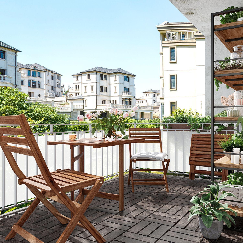 Balkonset Mimo 3er Set Aussenmobel Garten Couch Garten Lounge Set