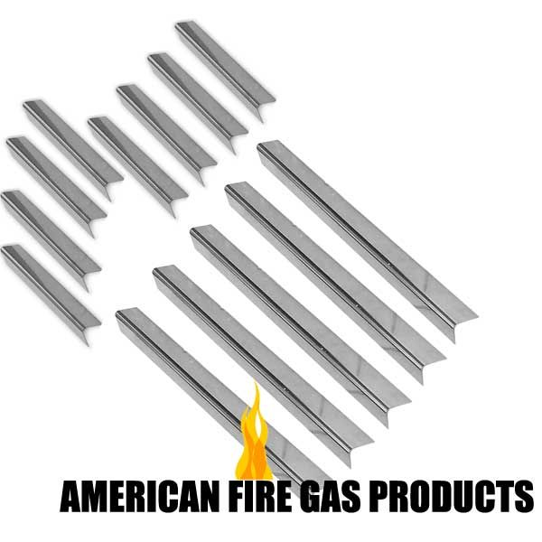 13 Pack Stainless Steel Flavorizer For Weber 7538 1100900 1000 2000 3500 Iv Platinum B I Ii Gas Grill Models Fits Weber 211 Gas Grill Grill Parts Gas