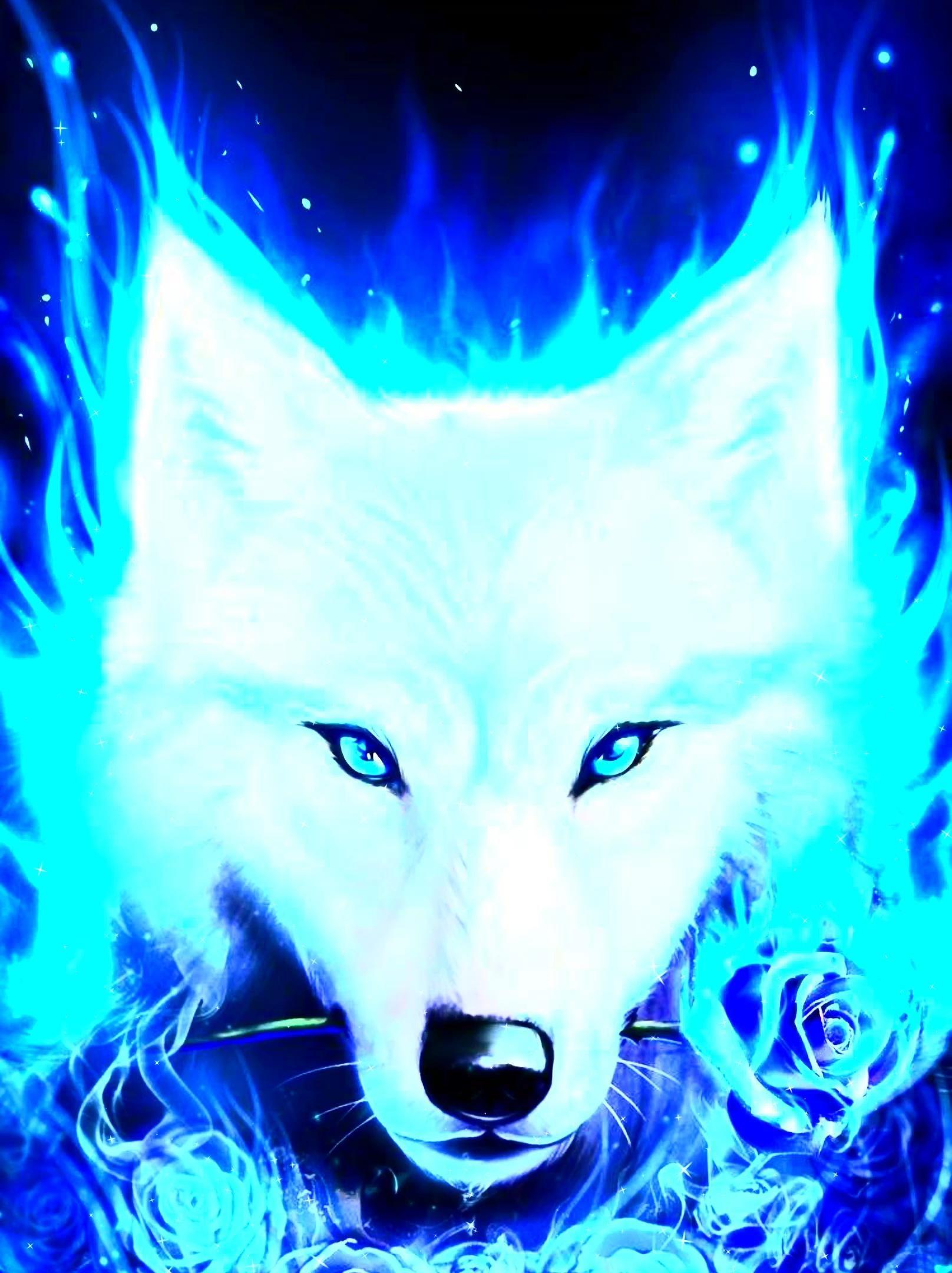 Pin By Digital Art Alive On 2020 Digital Art Video Wolf Spirit Animal Spirit Animal Art Wolf Wallpaper