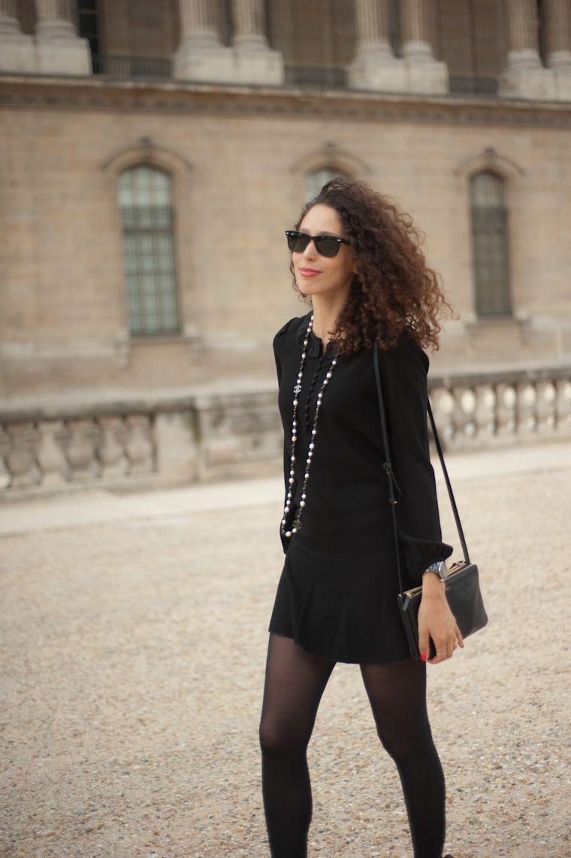 Petite robe noire rock