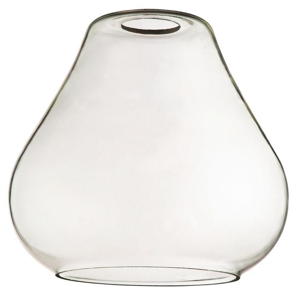 Westinghouse 7 In Clear Glass Open Teardrop Shade With 2 1 4 In Fitter And 7 1 2 In Width 8102100 Replacement Glass Shades Clear Glass Westinghouse