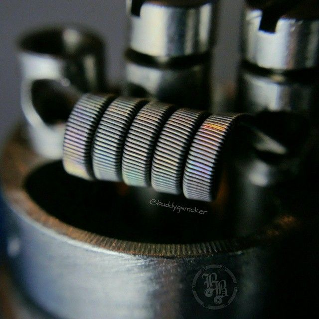 Another Shot of the 9ply  4mm Ribbon Wire Staple Coil Post