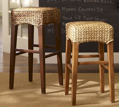 Seagrass Backless Bar Amp Counter Stools Backless Bar Stools Bar Stools Seagrass Dining Chairs