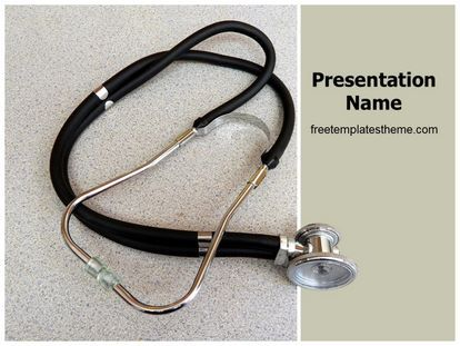 Download Free Doctor Stethoscope Powerpoint Template
