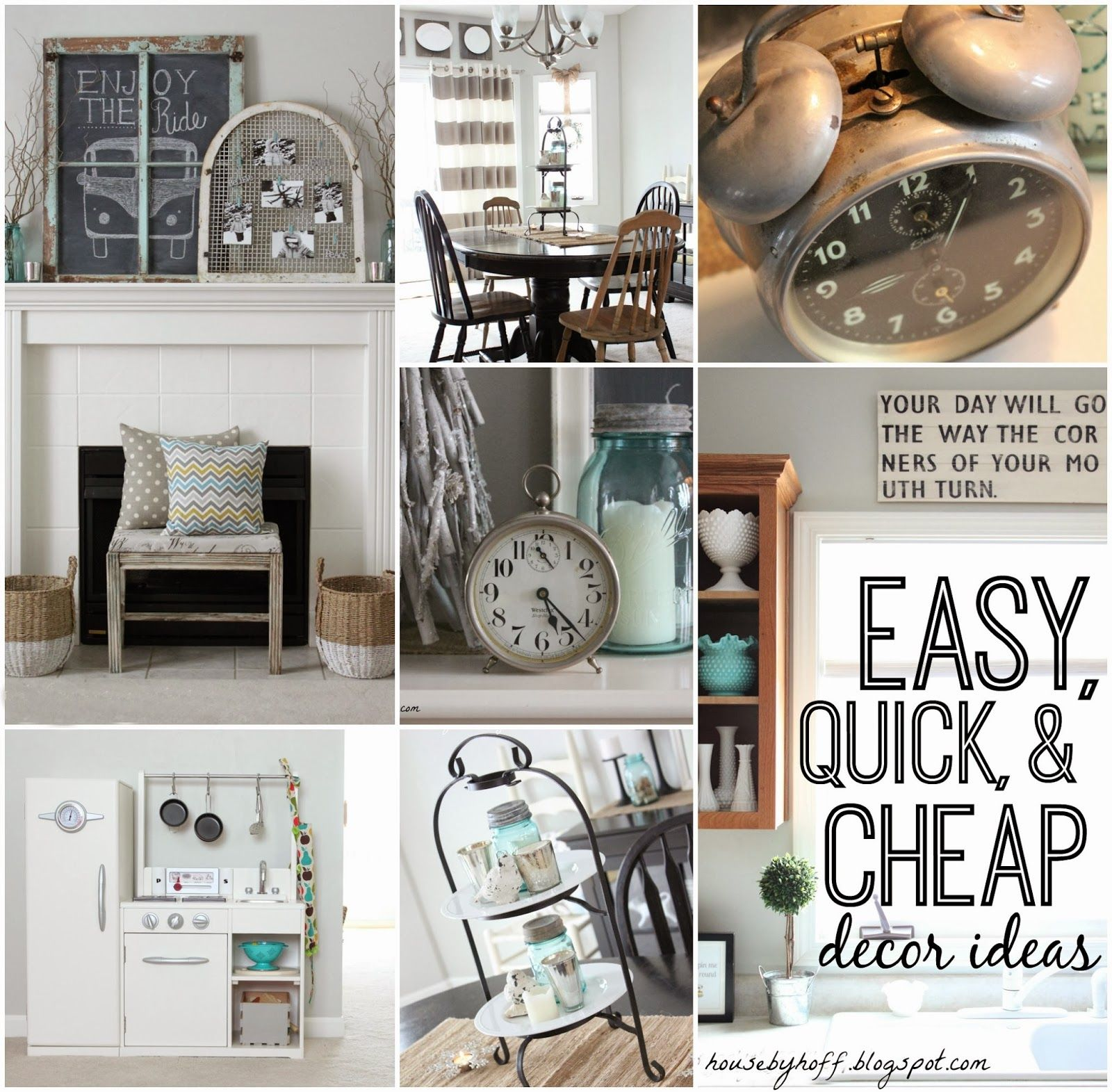 quick cheap decorating ideas