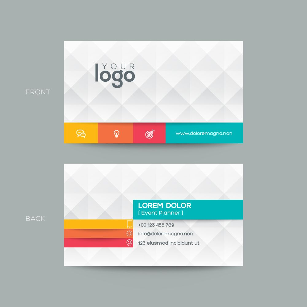 Byteknight Designs  Simple Visiting/ Business Card Design