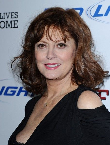 susan hair styling susan sarandon medium wavy cut hair styles 5514