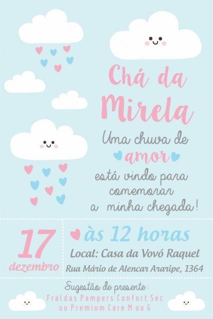 Convites Cha De Bebe 65 Modelos Apaixonantes Diy Passo A Passo