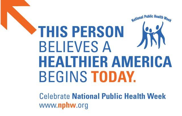 Free Tools For National Public Health Week Health Education Health Class Public Health