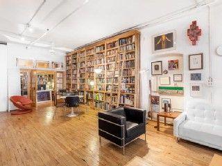 Artistic apartment decorated in retro interiors and grand