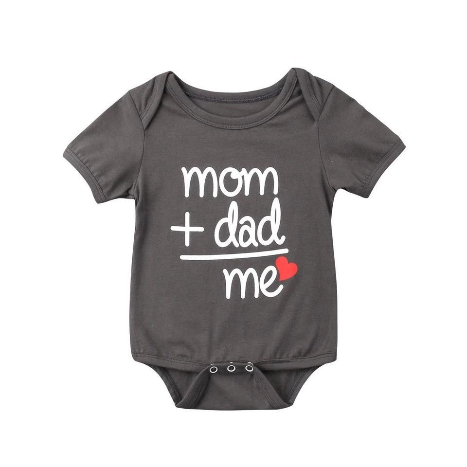 Unisex baby kawaii bodysuit clothes is part of Baby Clothes Funny - Descriptions Beautiful and Adorable Comfy and smooth to wear materials polyester, Cotton Gender Unisex Pattern type Letter Item type Bodysuit Sleeve length Short It is good for all occasions and seasons Not satisfied, we offer 30 days return 100% money back guarantee