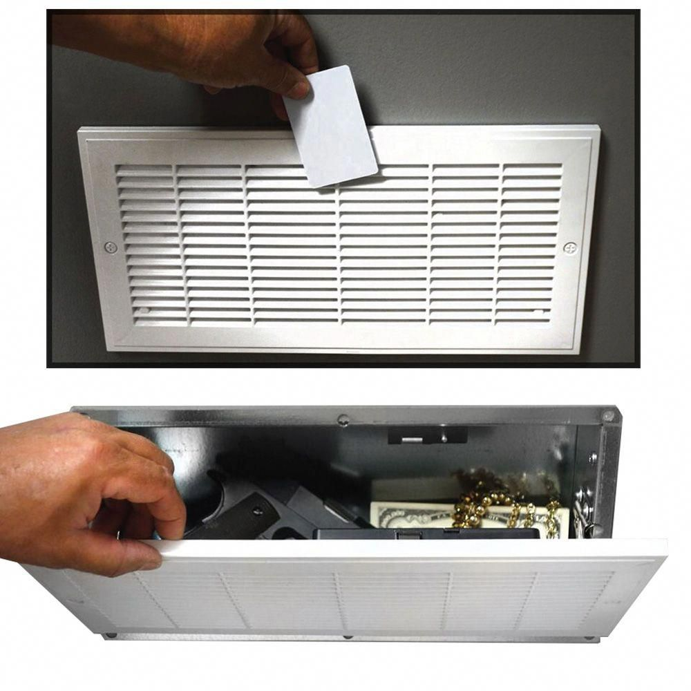 Product Featuresfake Hvac Vent Hidden Safe Neatly Hides Valuables Safely Within The Wallwon T Op Hidden Safe Home Security Camera Systems Home Security Systems